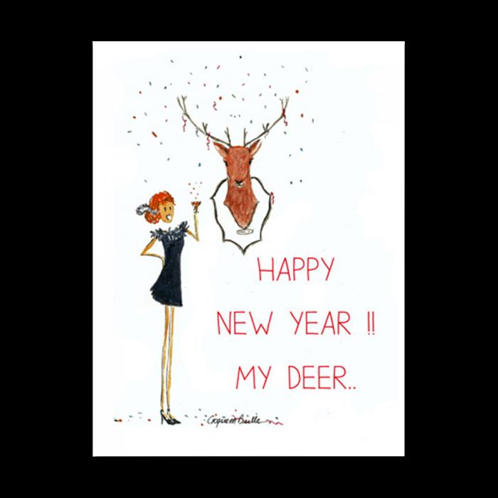 Happy new year my deer