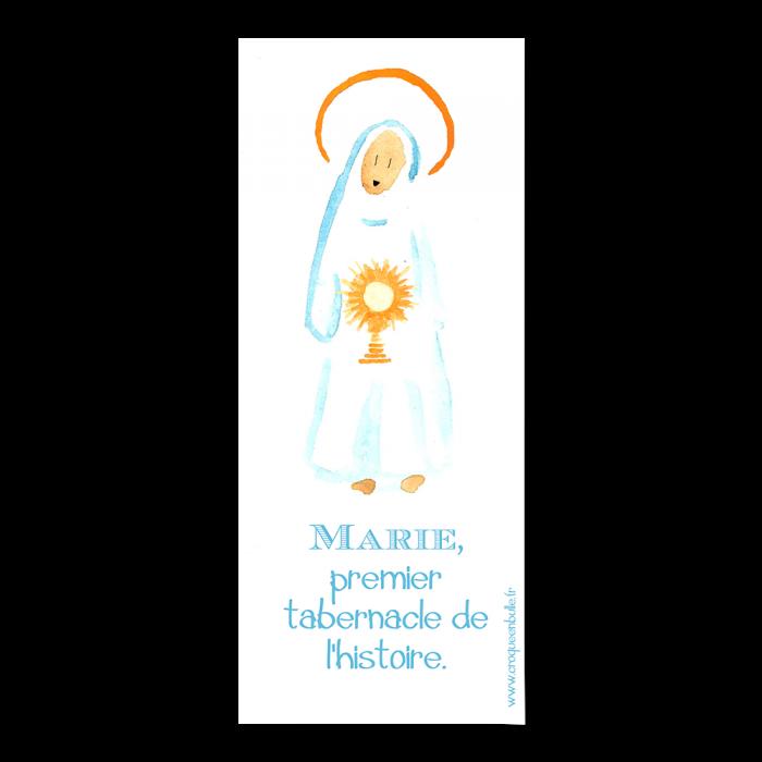 Marie, Premier tabernacle